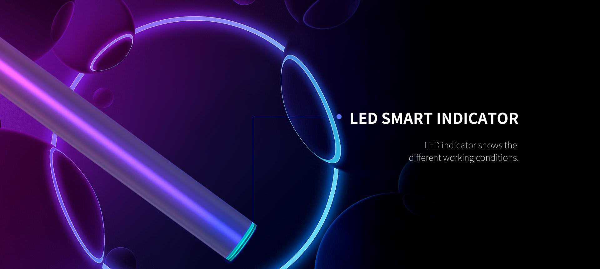 cbd battery led light