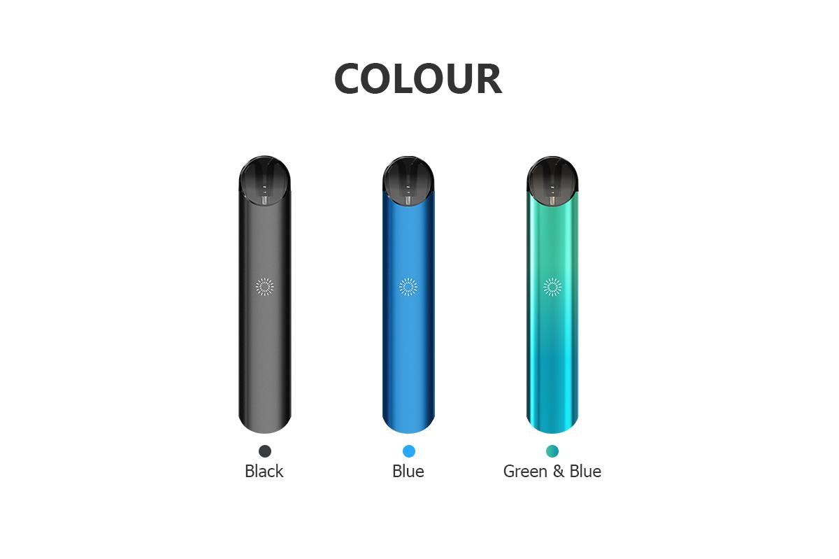 Colors of SKE E-cigarette Vape Pod System - 1950 Dpod