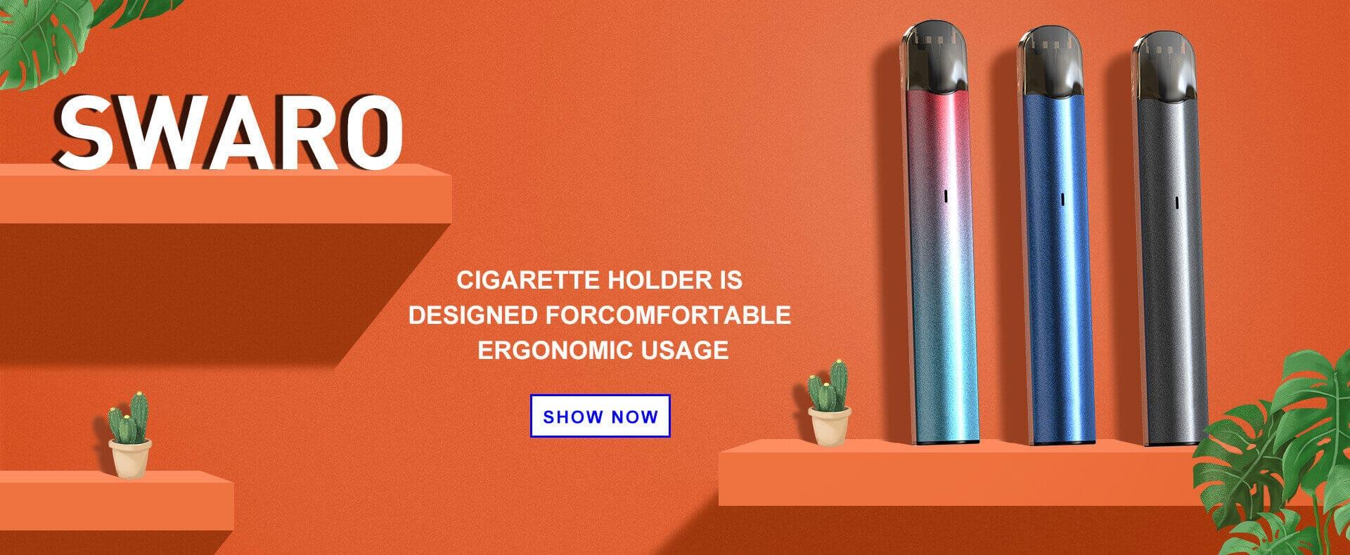 SKE Original Design Vape Pen Pod System - SWARO, accept OEM, ODM.